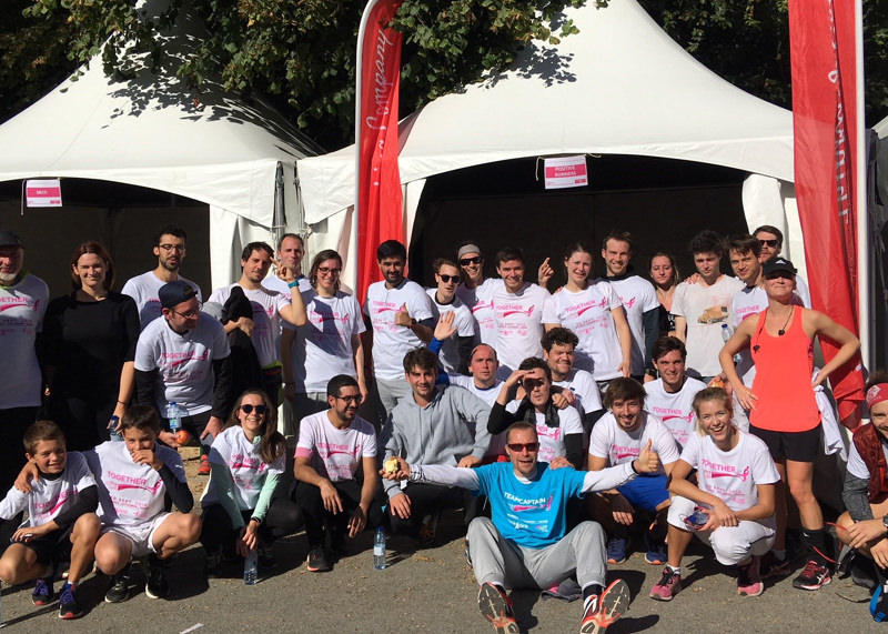 Think Pink- Race for the Cure
